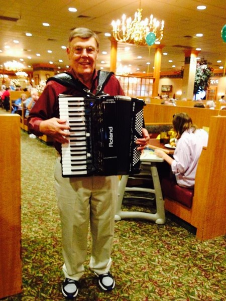 John Collins - Accordion Player - Souderton, PA
