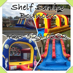 Tennessee Party Inflatables | Shelf Service Bouncers