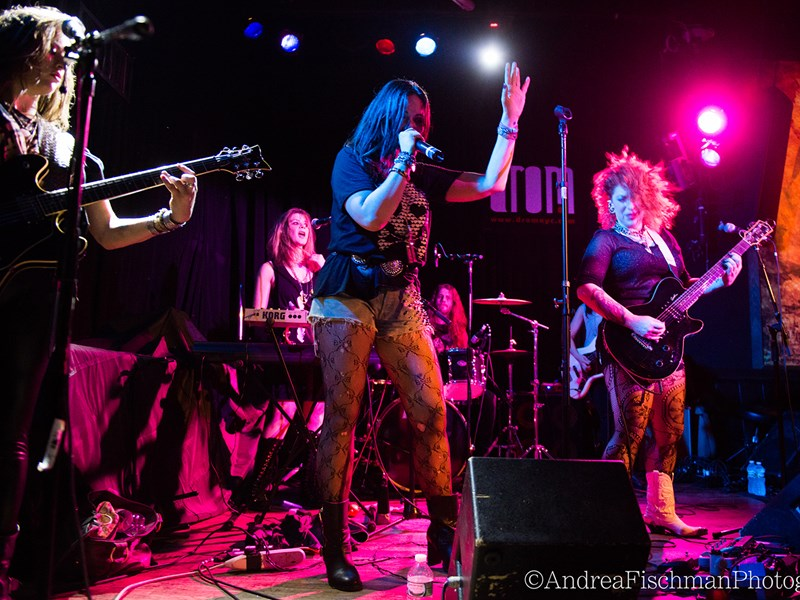 the Rocket Queens all-female tribute to GnR - Guns N Roses Tribute Band - Brooklyn, NY