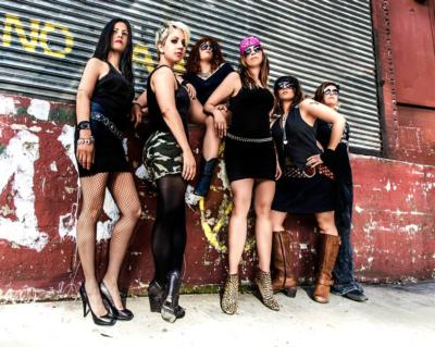 the Rocket Queens all-female tribute to GnR | Brooklyn, NY | Guns N Roses Tribute Band | Photo #1