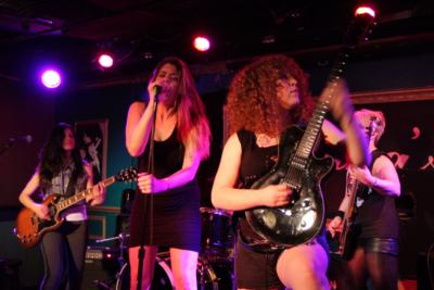 the Rocket Queens all-female tribute to GnR | Brooklyn, NY | Guns N Roses Tribute Band | Photo #7