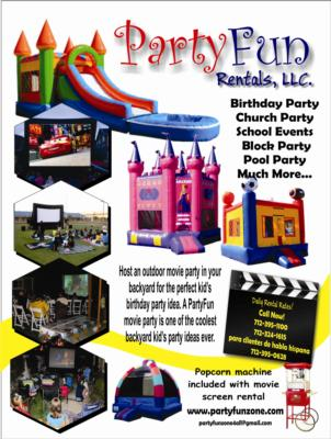 Bounce Houses and Movie Screens - Inflatables | Orange City, IA | Party Inflatables | Photo #4