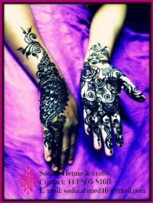 Sadia's Henna Crafts | Baltimore, MD | Henna Artist | Photo #2