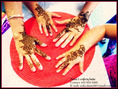 Sadia's Henna Crafts | Baltimore, MD | Henna Artist | Photo #1