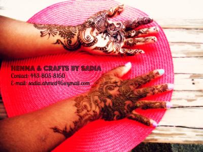Sadia's Henna Crafts | Baltimore, MD | Henna Artist | Photo #8