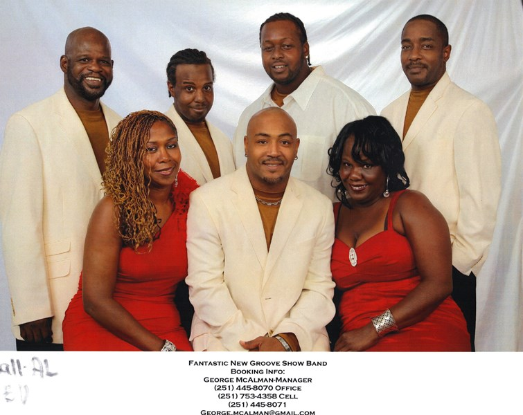 FANASTIC NEW GROOVE SHOW BAND - Motown Band - Mobile, AL
