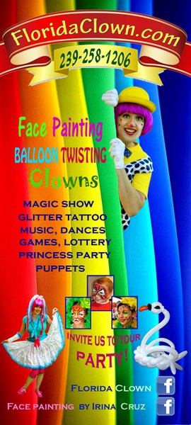 Florida Clown - Balloon Twister - Lehigh Acres, FL