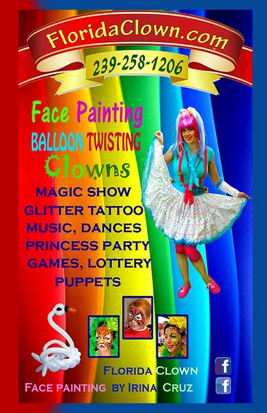 Face painting, Balloon Twisting, Show ! - Face Painter - Naples, FL