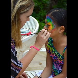 Austin Princess Party | Face Paint by Lucy