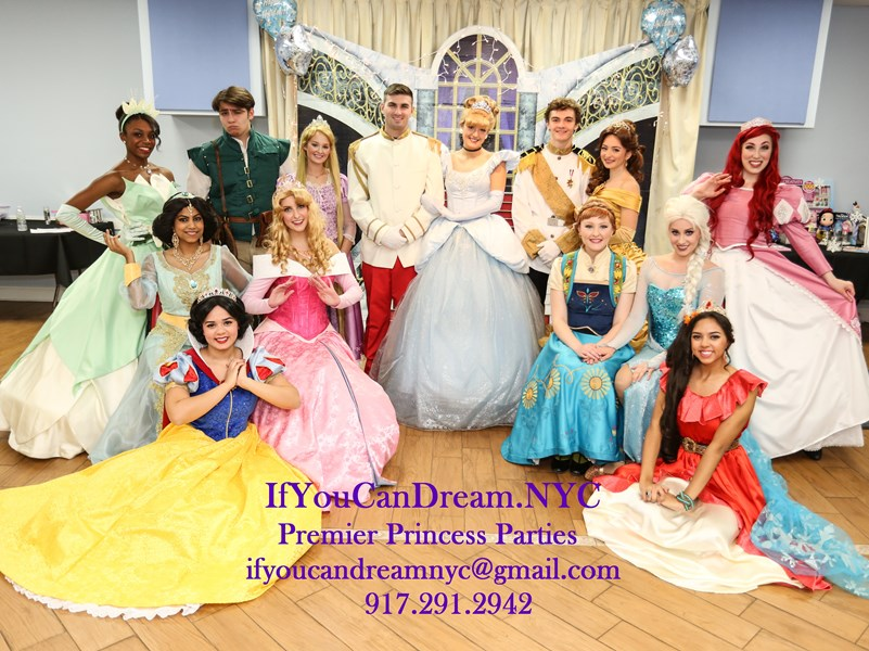 If You Can Dream NYC Premier Princess Parties - Princess Party - New York City, NY