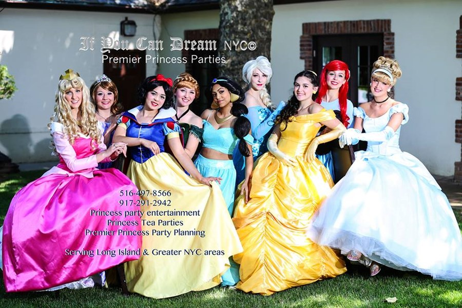 If You Can Dream NYC Premier Princess Parties - Princess Party - New York, NY