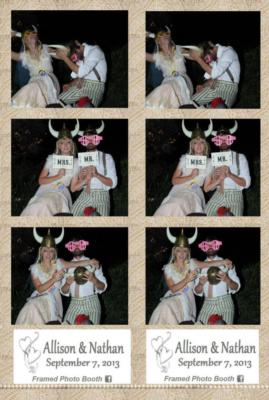 Framed Photo Booth | Odessa, TX | Photo Booth Rental | Photo #6