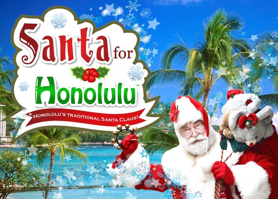 Santa For Honolulu