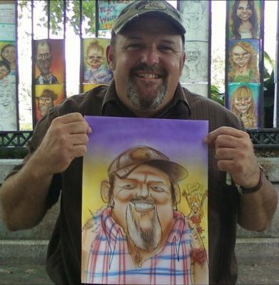 Andrew Wilkie | New Orleans, LA | Caricaturist | Photo #6