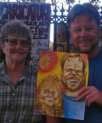 Andrew Wilkie | New Orleans, LA | Caricaturist | Photo #8