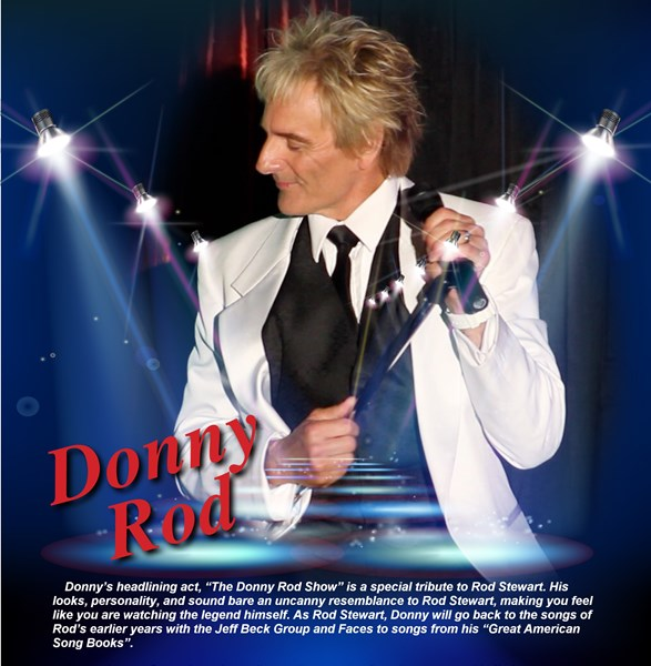 Donnie's Solo Singing Show  - Rod Stewart Impersonator - New Baltimore, MI