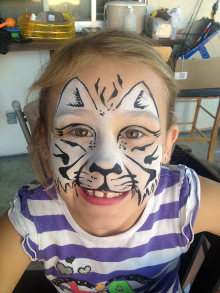 Colorful Face Painting - Face Painter - Livermore, CA