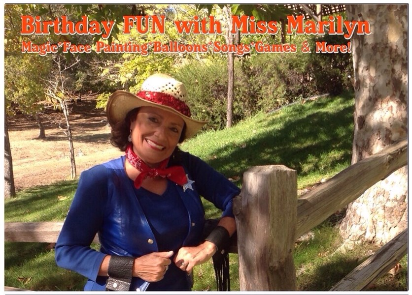 Birthday FUN with Miss Marilyn - Balloon Twister - Novato, CA