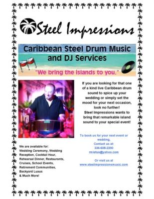 Steel Impressions Music | Greensboro, NC | Steel Drum | Photo #3