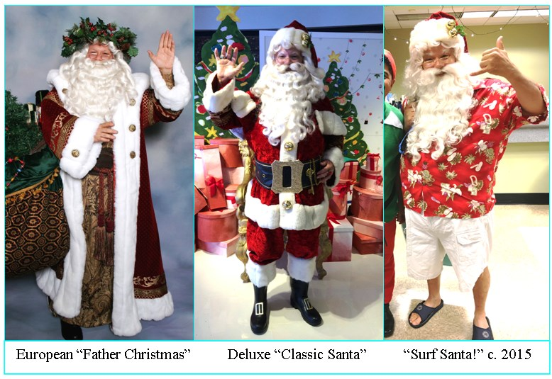 """Honolulu Santas""- As seen on TV!"