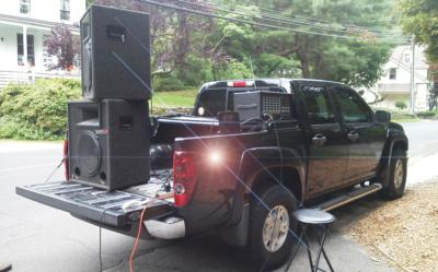 Mobile sound reinforcement