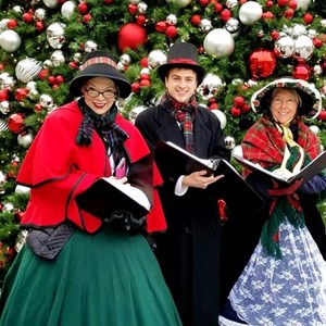 washington dc christmas caroler christmas carolers 42nd st singers