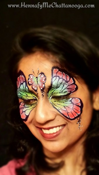 Manasi's Art - Hennafy Me! - Face Painter - Peachtree City, GA
