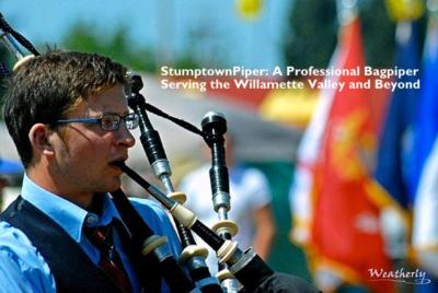 Stumptown Piper | Portland, OR | Bagpipes | Photo #1