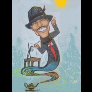 Mount Holly Caricaturist | LeVar Reese/ LeVar 4 Art