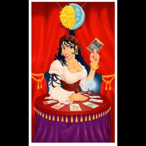 Psychic Tarot Card Gypsy Girl - Palm Reader - Chicago, IL