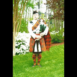 Woodstock Bagpiper | Gus Person