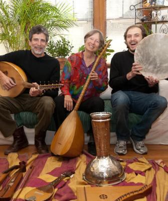 Voice of the Turtle: Sephardic Music and More | Jamaica Plain, MA | World Music Trio | Photo #1