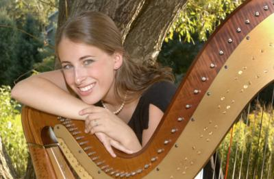 Caitlin Michelle Desjardins, Professional Harpist | Cleveland Heights, OH | Harp | Photo #1
